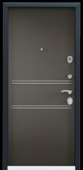 Дверь TOREX DELTA-M 10 Темно синий букле / Молочный шоколад ПВХ молочный шоколад