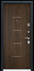 Дверь TOREX DELTA-M 10 Темно синий букле / Орех грецкий Орех грецкий