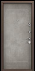 Дверь TOREX DELTA-M 10 Венге ПВХ Венге / ПВХ Бетон темный
