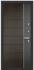 Дверь TOREX DOMANI 100 Ирландский серый / Черное дерево