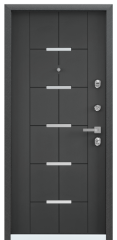 Дверь TOREX PROFESSOR 4+ 02 Темный-пепел ПВХ Темный-пепел / Темный-пепел ПВХ Темный-пепел