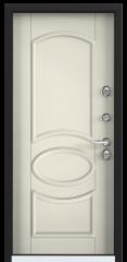 Дверь TOREX SNEGIR 20 RAL 8019 / Слоновая кость ПВХ слоновая кость