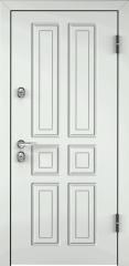 Дверь TOREX SNEGIR 20 RAL 9016 белый / Слоновая кость ПВХ слоновая кость