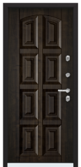 Дверь TOREX SNEGIR 45 RAL 3005 / Дуб мореный Дуб мореный