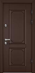 Дверь TOREX SNEGIR 45 RAL 8017 коричневый / Дуб мореный Дуб мореный