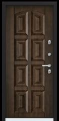 Дверь TOREX SNEGIR 45 RAL 8017 коричневый / Орех грецкий Орех грецкий