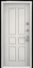 Дверь TOREX SNEGIR 55 Бьянко муар / СТ Милк матовый
