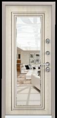 Дверь TOREX SNEGIR 55 Кремовый муар / Дуб бежевый Дуб бежевый