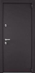 Дверь TOREX SNEGIR 55 RAL 8019 / ПВХ Венге темный горизонт