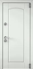 Дверь TOREX SNEGIR 55 RAL 9016 белый / Шамбори светлый ПВХ Бел шамбори
