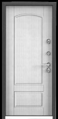 Дверь TOREX SNEGIR 55 Синий гиацинт / ПВХ Скол дуба белый