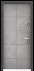 Дверь TOREX SNEGIR 55 Темный пепел / ПВХ Бетон серый