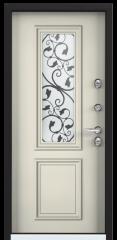 Дверь TOREX SNEGIR 55C-02 RAL 8019 / Венге Конго ПВХ Конго Венге