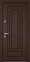 Дверь TOREX SNEGIR 60 RAL 8017 коричневый / Орех грецкий Орех грецкий