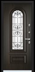 Дверь TOREX SNEGIR COTTAGE 02 Черное дерево / Черное дерево
