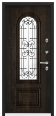 Дверь TOREX SNEGIR COTTAGE 02 Черное дерево / Дуб мореный Дуб мореный