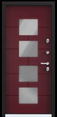 Дверь TOREX SNEGIR COTTAGE 05 RAL 3005 / RAL 3005