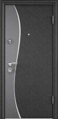 Дверь TOREX SUPER OMEGA 10 MAX Черный шелк / Белый Белый