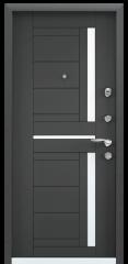 Дверь TOREX SUPER OMEGA 10 MAX Черный шелк / Темный-пепел ПВХ Темный-пепел