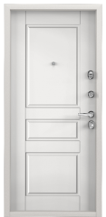 Дверь TOREX SUPER OMEGA 100 Бьянко муар / Белый Белый