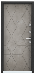 Дверь TOREX SUPER OMEGA 100 ПВХ Бетон темный / ПВХ Бетон темный
