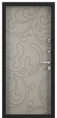 Дверь TOREX SUPER OMEGA 100 RAL 8019 / Кремовый ликер ПВХ кремовый ликер