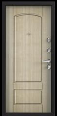 Дверь TOREX SUPER OMEGA 100 RAL 8019 / Венге светлое ПВХ БЕЛ венге