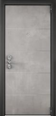 Дверь TOREX ULTIMATUM NEXT ПВХ Бетон серый / ПВХ Венге темный горизонт