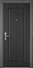 Дверь TOREX ULTIMATUM NEXT ПВХ Скол дуба черный / СТ Графит матовый