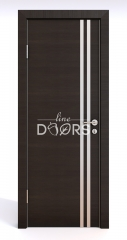 ШИ дверь DG-606 Венге горизонтальный