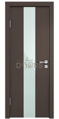 ШИ дверь DO-610 Бронза/стекло Белое