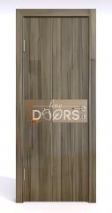 Дверь межкомнатная DO-509 Сосна глянец/зеркало Бронза