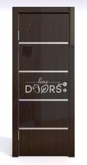 ШИ дверь DG-605 Венге глянец