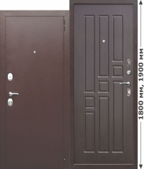 Нестандартная входная металлическая дверь Ferroni Garda mini