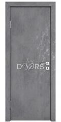 Дверь межкомнатная DG-500 Бетон темный