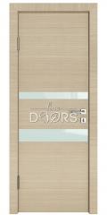 Дверь межкомнатная DO-512 Неаполь/стекло Белое