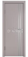 Дверь межкомнатная DG-506 Серый бархат