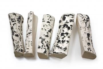 Керамические дрова береза колотая (ZeFire) - 5 шт