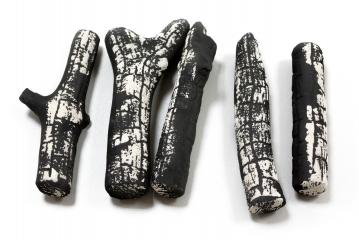 Керамические дрова обгорелые (ZeFire) - 5 шт