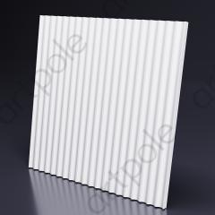 Гипсовая 3D панель PALLADA 600x600x21 мм