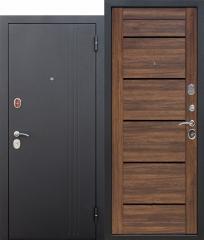 Входная дверь Ferroni 7,5 см НЬЮ-ЙОРК Царга Дуб санремо темный