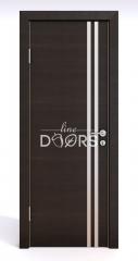 Дверь межкомнатная DG-506 Венге горизонтальный