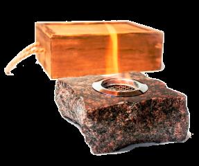 Подарочный биокамин ZeFire Rock