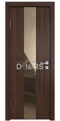 Дверь межкомнатная DO-510 Мокко/зеркало Бронза