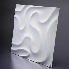 Гипсовая 3D панель FOG 1 600x600x24 мм
