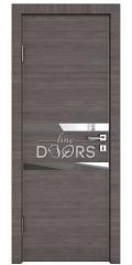 Дверь межкомнатная DO-513 Ольха темная/Зеркало