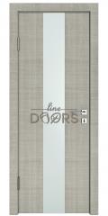 Дверь межкомнатная DO-510 Серый дуб/Снег