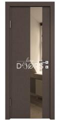 Дверь межкомнатная DO-504 Бронза/зеркало Бронза