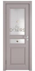 Дверь межкомнатная DO-SOFIA1 Серый бархат