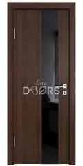 Дверь межкомнатная DO-504 Мокко/стекло Черное